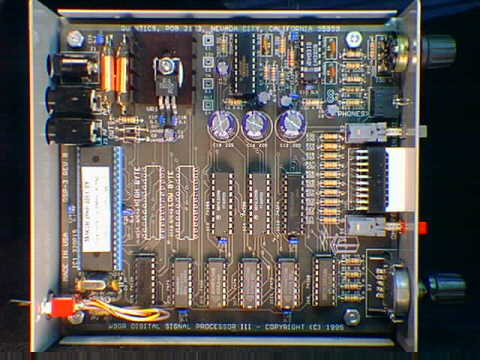 Internal view of PC board